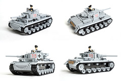COBI Panzer III MOC (Adam Purves (S3ISOR)) Tags: mod tank tiger iii wwii german armor ww2 panther armour worldwar2 cobi panzer kingtiger moc wehrmacht tigerii panzerkampfwagen panzer3 smallarmy