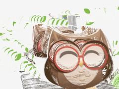 Owl Trivify Mobile App (ijstheedribbble) Tags: inspiration apple design tv graphic screensaver popular dribbble iftt