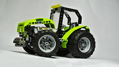 How to Build the Lego Technic Tractor (MOC) (hajdekr) Tags: tractor motion building wheel toy lego machine help tip howto tips vehicle instructions guide manual tutorial tuto buildingblocks moc agro assemblyinstructions legotechnic myowncreation buildingguide legointerest