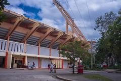 Plaza Sandino (lezumbalaberenjena) Tags: santa clara villas villa cuba 2016 city ciudad baseball beisbol pelota stadium estadio lezumbalaberenjena
