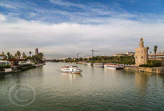 Seville Jan 2016 (5) 601 - The Torre del Oro, a dodecagonal military watchtower