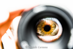 My eye in Macro (Daniele Carmona) Tags: world macro green eye eyes nikon hd through nikoncorporation nikond7100 danielecarmona