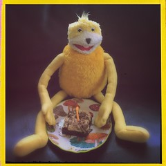 Let them eat cake (BLACK EYED SUZY) Tags: cute cake candle happybirthday flateric mroizo hipstamatic oggl