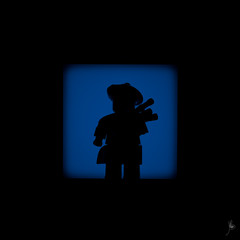 Shadow (136/100) - Bagpiper (Ballou34) Tags: light shadow canon toy toys photography eos rebel scotland blackwhite flickr lego stuck plastic bagpiper scotish scots photgraphy bagpipe minifigure afol 2016 2015 minifigures toyphotography 650d t4i eos650d legography rebelt4i legographer stuckinplastic ballou34 enevucube 100shadows
