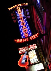 Crossroads Music City (Laurence's Pictures) Tags: city music america neon tn nashville tennessee district country broadway
