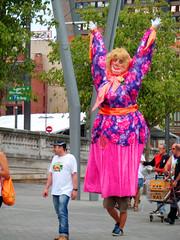 BILBAO - 'Mari Jaiak' (LUAL audiovisual) Tags: hello party españa spain fiesta bilbao agosto disfraz euskadi vizcaya bilbo basquecountry gora cabezudos jaia paísvasco emblema bizcaia semanagrande fiestasdeverano marijaiak