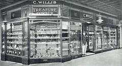 Treasure Corner, C. Willis, Maitland, N.S.W. (maitland.city library) Tags: street streets west corner buildings store high commerce with treasure watches jewellery business commercial shops newsouthwales 1922 stores willis harkins printers businesses watchmaker compliments maitland jeweller bulwer dimmock