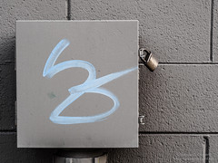FSC-160211-57306.jpg (FrancoisClement) Tags: blue grafitti lock paloalto tagging junctionbox cinderblockwall brasslock