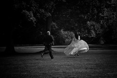 it's over before it started (ddimblickwinkel) Tags: wedding bw dresden blackwhite nikon saxony sachsen sw tamron hochzeit d300 schwarzweis d300s