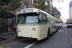 1950 Marmon-Herrington TC-48 #776 (busdude) Tags: bus electric coach san francisco trolley railway muni municipal trolleybus trolleycoach marmonherrington tc48