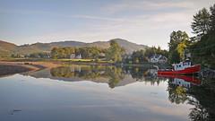 Still Waters... (Harleynik Rides Again.) Tags: scotland boat harbour glenelg maryflora nikondf harleynikridesagain