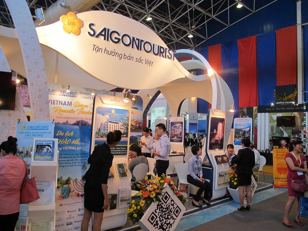 Hội chợ Du lịch quốc tế lần IV (VITM) tại Hà Nội.