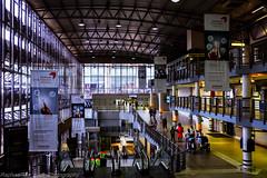 Towards the Airport Terminal... (Raphael de Kadt) Tags: africa airport interior carpark johannesburg gauteng ekurhuleni