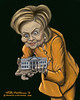 Hillary Clinton - My Precious (David Lacasse) Tags: white house art digital race photoshop painting us humorous clinton president satire humor presidential want adobe precious hillary caricature wacom democrat primary dems rodham cintiq uspresidentialrace cintiq27qhd
