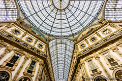 6 PICTURES - Galleria Vittorio Emanuele II - 1877 - Milan - Italy (Frank Smout) Tags: italy milan architecture gallery ii galleria 1877 emanuele vittorio galleriavittorioemanueleii