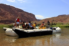 Off they Go! (oxfordblues84) Tags: trip arizona sky people cloud reflection water kids clouds reflections river teens bluesky tourists nativeamerican rafting coloradoriver raft riverbank nativeamericans leesferry riverraft whitewaterraftingtrip coconinocounty roadscholar roadscholartour roadscholartrip grandcanyonnationalparkexploringthenorthandsouthrims roadscholarorg coloradoriverwhitewaterrafting coloradoriverwhitewaterraftingtrip