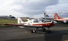 XX541. Royal Air Force Scottish Aviation Bulldog T.1 (isdc1316) Tags: june aviation military airshow scanned 1989 raf prestwick pik royalairforce egpk scottishaviationbulldogt1 ayronautica xx541