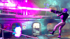 597 (Beth Amphetamines) Tags: pink cambridge wallpaper dead outfit screenshot mix holding pretty purple ghost rifle shell gits beam labs laser inthe dying blast shutup lazer raiders kusanagi polymer motoko fallout4 notamusicconcert