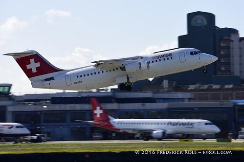 Swissair RJ85 ~ HB-IXS