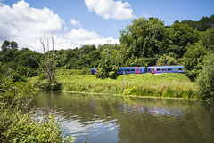 River Avon #1 (Alexander Jones - Documentary Photography) Tags: england west water train river landscape photography nikon bath south great north documentary first railway somerset east western avon d3000