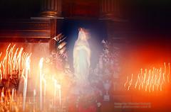 Glowing Heat of Gentle Strength (Vern Krutein) Tags: city paris france hot texture religious fire worship faith religion burning flame burn heat sacredplace scenics parisian rctv01p0815