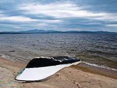 Forlatt bt ved Femunden. (2BB1 Media) Tags: abandoned strand outdoors boat local wreck bt vrak sandstrand femunden