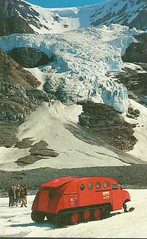 Columbia Icefields- Andromeda Ice Fall (912greens) Tags: snow canada mountains postcards glaciers snowmobiles 1970s columbiaicefields andromedaicefall