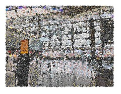 SFO Emoji Mosaic (sjrankin) Tags: sanfrancisco california northerncalifornia airport sfo edited processed filtered sanfranciscoairport emojimosaic 13april2016