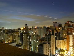 Landing Trail (Serghei Zadorojnai) Tags: brazil night saopaulo trail 2012 cityspace staybridgesuites 201204 20120422
