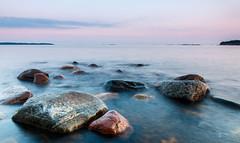 Rock formations (jsalonen) Tags: longexposure sunset seascape finland landscape helsinki lauttasaari lnsiulapanniemi