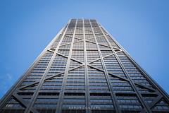 John Hancock building.  Chicago. (A. Couture) Tags: chicago illinois bean cloudgate