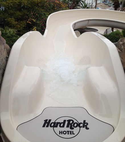 SwimDek at Hard Rock Hotel water slide Orlando, FL