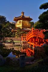 Nouveaux territoires - Jardin Nan Lian 7 (luco*) Tags: china new bridge garden pagoda chinese jardin hong kong pont chinois nan territories chine lian pagode nouveaux territoires flickraward flickraward5