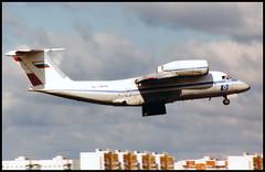 RA-74040 - Moscow Vnukovo (VKO) 16.08.2001 (Jakob_DK) Tags: 2001 vko uuww vnukovo moscowvnukovo antonov antonov74 an74 coaler cargo ugp sharink sharavia