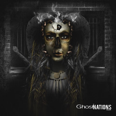Persona Of Fallen Gods (Ghost Of Nations Photography And Digital Art) Tags: photoshop dark gloomy artistic gothic horns disturbing liminal disquiet newgothic ghostofnations ghostofnationsphotography