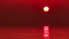 Deep red (Massimo Buccolieri) Tags: ocean sunset red seascape marina zonsondergang tramonto sonnenuntergang prdosol marinha solnedgang solnedgng coucherdusoleil  lapuestadelsol  paesaggiomarino paysagemarin seestck  marinmlning  marinemaleri solisoccasum