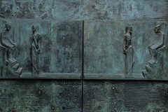 Door-detail_DSC3003 (Mel Gray) Tags: barcelona church spain catholic basilica religion gaudi sagradafamilia religiousart religiousarchitecture