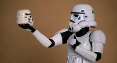 Imperial Actor (aaron.kudja) Tags: toy star starwars indoor stormtrooper wars hamlet revoltech