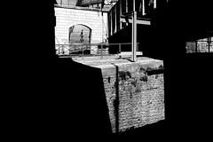 In the staircase (pascalcolin1) Tags: light shadow blackandwhite paris noiretblanc lumire ombre staircase escalier streetview photoderue urbanarte photopascalcolin