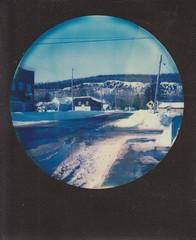 Home (jillybeanmi) Tags: home polaroid sx70 michigan instant uppermichigan roidweek
