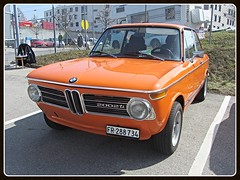 BMW 2002 ti (v8dub) Tags: auto old 2002 classic car schweiz switzerland automobile suisse automotive voiture german bmw oldtimer fribourg oldcar freiburg ti collector wagen pkw klassik worldcars