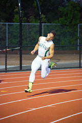 Eli in the 200m (Malcolm Slaney) Tags: track paloalto ccs 200m trackandfield top8 2016 paly