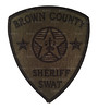 Brown County Sheriff SWAT Patch (Subdued) (Patch Collector) Tags: county brown team police special sheriff patch emergency critical tactics swat weapons cru appleton response unit ert subdued outagamie