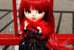 .: Loki :. (.: Miho :.) Tags: new red black hair doll dolls manga makeup planning butler groove pullip jun obitsu grell 25cm kuroshitsuji