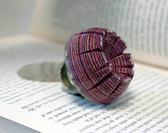 Jewellery Made out of Discarded Books (jh.siesta) Tags: books jewellery made discarded