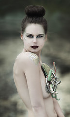 Laomedeia (jasmin_mel) Tags: fantasy editorial mermaid labyrinth darkfairytale