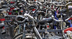 Where is my Bicycle? (rolfspicture) Tags: city bicycle parking rad mnster
