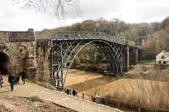 I decree today that life is simply taking and not giving (OR_U) Tags: uk bridge england building heritage architecture landscape iron cityscape ironbridge telford riversevern oru thesmiths 2016