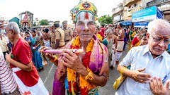 Krishna (rameshsar) Tags: street portrait india colors festival religion procession krishna chennai 8mm ther streetwalk peopleportrait triplicane rokinon parthasarathytemple xe2 parthsarathytemple brahmaothsovam