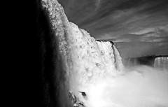 Iguazu 05 (Michael H) Tags: brazil blackandwhite argentina blackwhite waterfall iguazu iguazubrazil